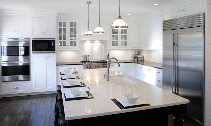 Black And White Tile For Commercial Grade Kitchen