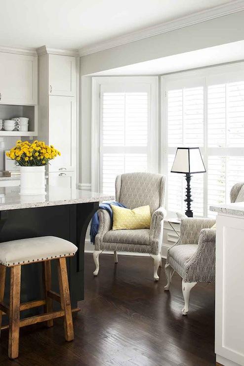 Bay Window Kitchen Transitional Kitchen Terracotta
