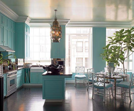 turquoise kitchen, turquoise blue kitchen, turquoise kitchen cabinets