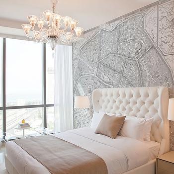 Home Office Paint Ideas Chair Rail World Map Mural