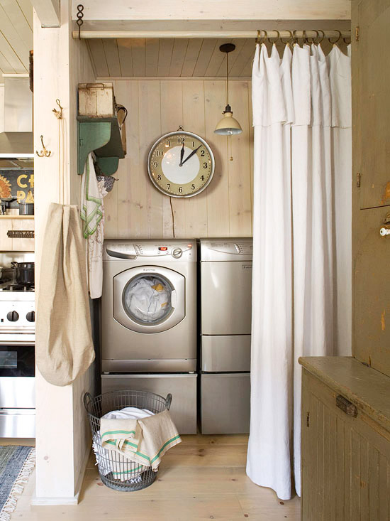 Laundry room curtains decoration news