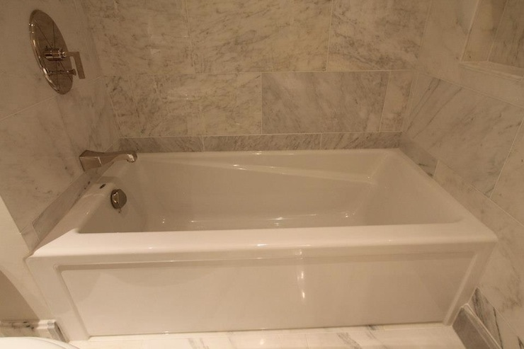 Drop in tub ideas transitional bathroom design build for Build your bathroom