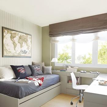 Modern Boy's Daybed, Transitional, boy's room