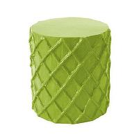 Seating - Net Stool / Accent Table I Stray Dog Designs - lime green stool, modern green stool, modern lime green stool,