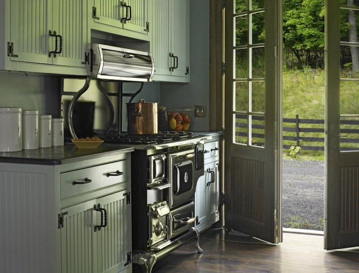 White Beadboard Cabinets Country Kitchen Kathryn
