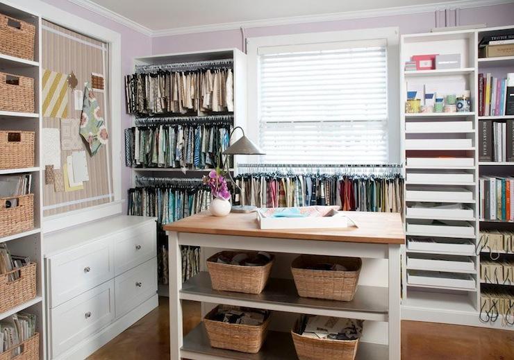 Interior designers office traditional den library for Room interior design sample