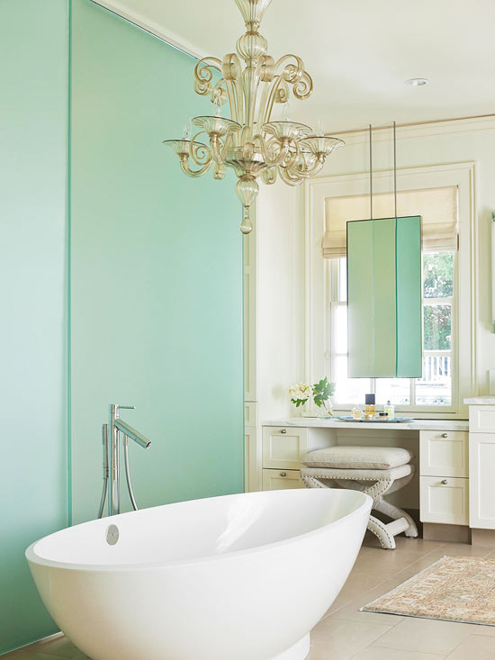 Frosted glass sliding doors contemporary bathroom bhg - Bathroom vanity with frosted glass doors ...