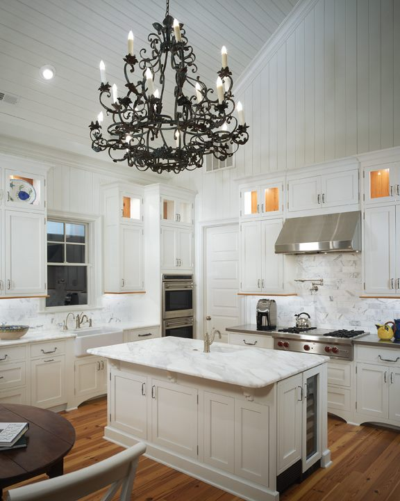 Vaulted Ceiling Kitchen Transitional Kitchen Pulliam
