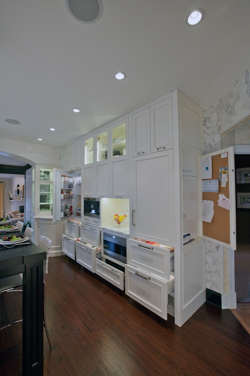 floor to ceiling kitchen cabinets transitional kitchen