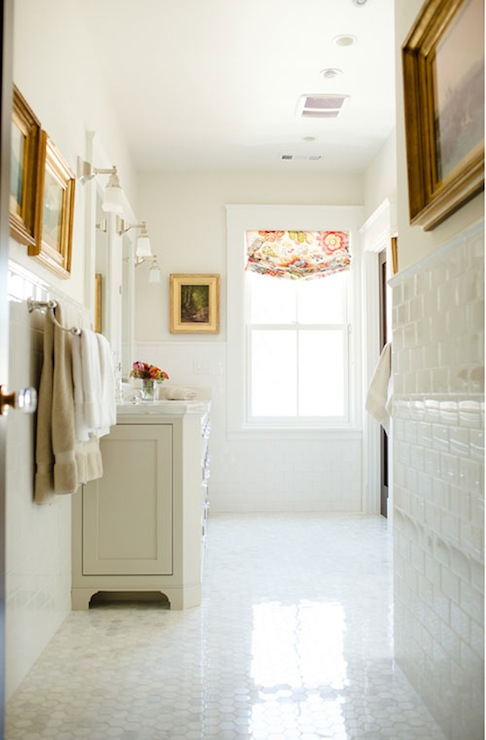 Clay Beige Traditional Bathroom Benjamin Moore Clay Beige Caitlin Wilson Design