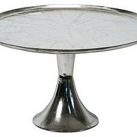 Tables - Aluminum Coffee Table I Tonic Home - aluminium coffee table, round aluminium coffee table, solid aluminium coffee table,