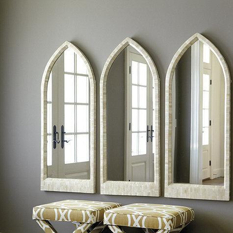 Bone Arched Mirror Ballard Designs