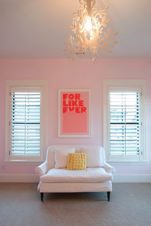 For like Ever Print - Contemporary - girl's room - Kara Shurtliff