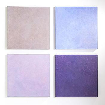 Art/Wall Decor - A Study in Lavender | Wisteria - purple canvas panels, purple wall art, purple canvas art,