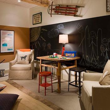 Attic Playroom Contemporary Boy S Room D2 Interieurs