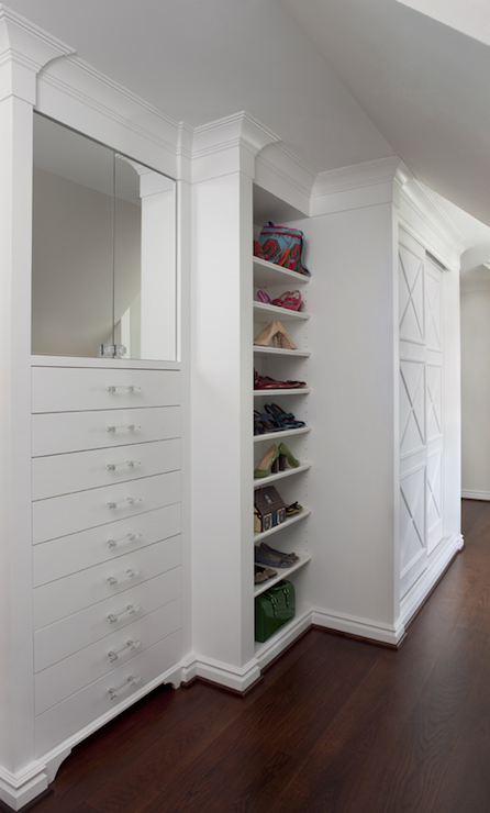 Walk In Closet Built Ins Traditional Closet Marianne