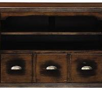 Storage Furniture - Allman TV Cabinet | HomeDecorators.com - apothecary tv cabinet, apothecary style media cabinet, antique style apothecary media cabinet,