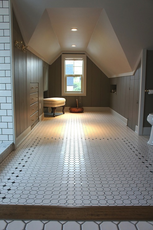 Attic Bathroom Vintage Bathroom Chic Design Investments