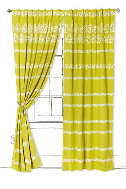 Dahlia Stripe Curtain I