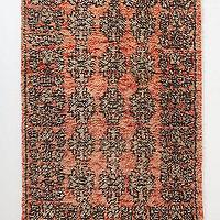 Rugs - Banksia Rug I Anthropologie.com - orange and black rug, orange and black fringed rug, orange and black traditional style rug,