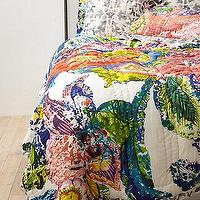 Bedding - Roseland Quilt I Anthropologie.com - multi-colored floral quilt, floral quilt, floral patterned quilt,