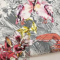 Wallpaper - Birds of Paradise Mural I Anthropologie.com - bird of paradise mural, tropical mural, wallpaper mural,