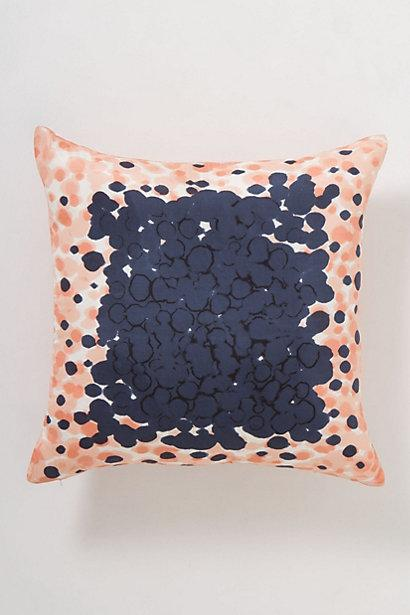 Throw Pillows Luxury : Peach Dip-Dot Pillow I Anthropologie.com