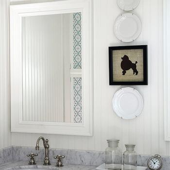Beadboard Bathroom Walls, Cottage, bathroom, Holly Mathis Interiors