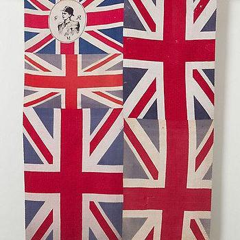 Art/Wall Decor - Flag Blanket, Brocade - Anthropologie.com - patchwork union jack blanket, union jack blanket, british flag blanket,