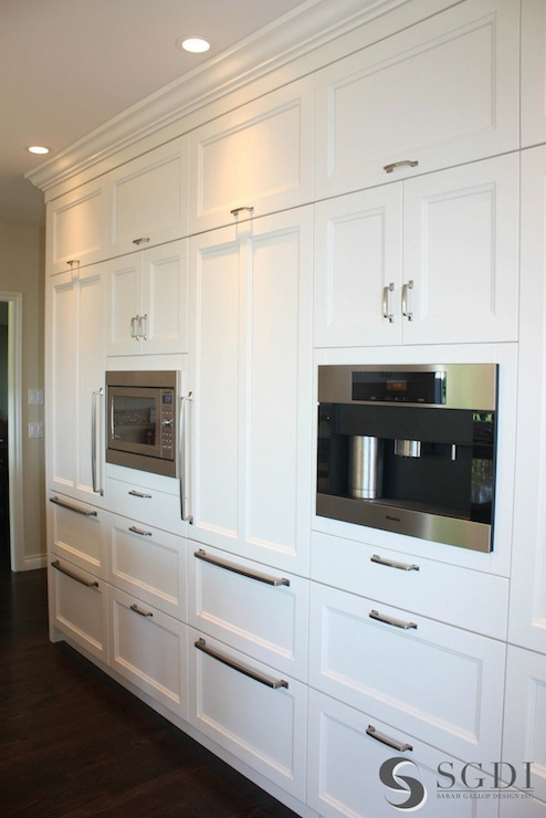 Concealed Refrigerator Transitional Kitchen Sarah