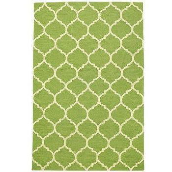 Rugs - Cabana Geometric Rugs - Citron I Pier 1 - green geometric rug, green trellis rug, green moroccan rug,