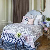 Bedding - John Robshaw Textiles - Pipal Indigo - Bed Collections I John Robshaw - indigo blue and white bedding, moorish bedding, moroccan bedding, indigo and white geometric bedding,