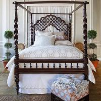 Bedding - John Robshaw Textiles - Palli - Bed Collections I John Robshaw - block print bedding, indian bedding, block print duvet, block print bed linens,