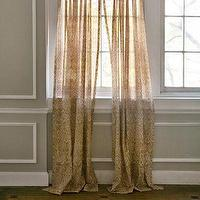 Window Treatments - John Robshaw Textiles - Raatha - Windows Sheers I John Robshaw - indian cotton voile sheers, patterned cotton voile sheers, hand screen printed cotton sheers,