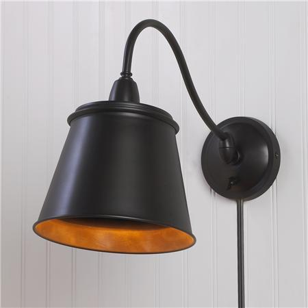 British Reading Wall lamp with dimmer (2 Finishes!) - Shades of Light