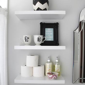 White Floating Bathroom Racks Target Wwwpicturessocom