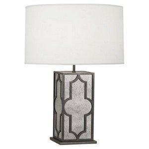 Lighting - Robert Abbey Addison One Light Table Lamp I Amazon - antiqued mirrored lamp, antique mirrored lamp, antiqued mirrored lamp with silk shade,