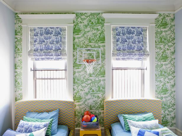 Green And Blue Boys Room Eclectic Boy S Room Hgtv