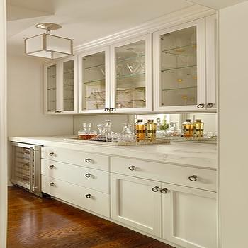 Mirrored Kitchen Backsplash, Traditional, kitchen, Structures Building Company