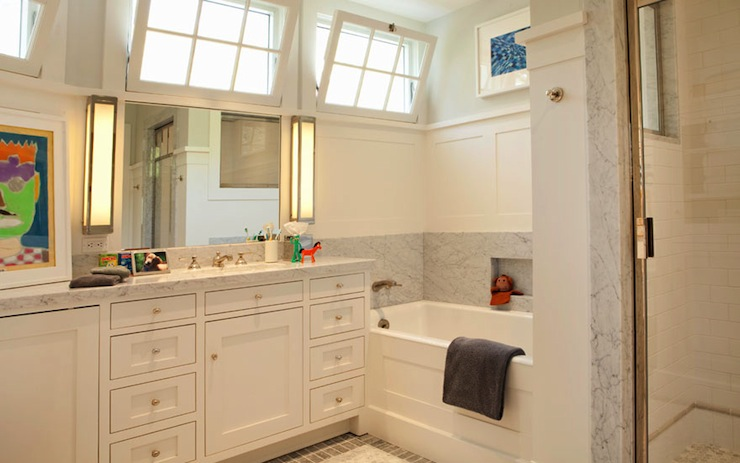 Kids Bathroom, Transitional, bathroom, Tim Barber