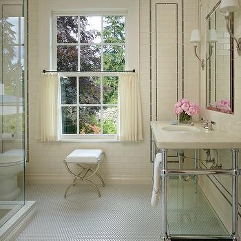 Cream Bathroom, Traditional, bathroom, Toth Construction