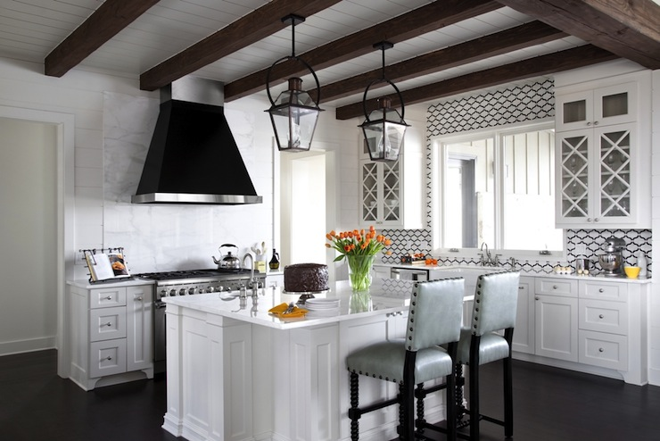 Beadboard Kitchen Ceiling Cottage Southern