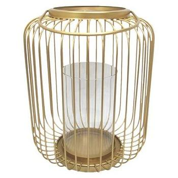 Decor/Accessories - Threshold Brass Cage Hurricane I Target - brass cage hurricane, brass cage lantern, brass cage candle holder,