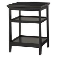 Tables - Threshold Carson End Table I Target - dark cherry end table, two shelved end table, dark wood end table,