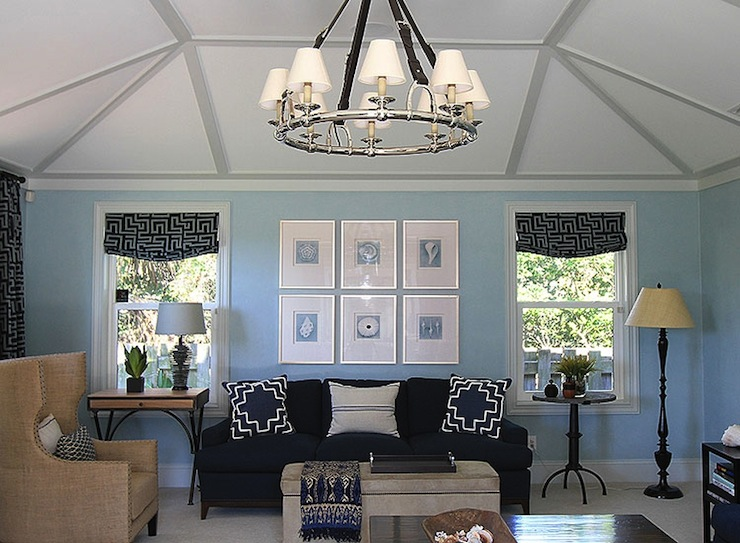 blue and beige living room contemporary living room andrew howard