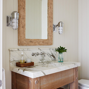 Beadboard Bathroom , Cottage, bathroom, Andrew Howard interior Design