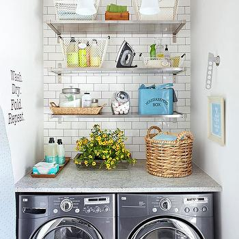 Vintage Laundry Room Design, Vintage, laundry room, BHG
