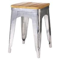 Seating - Threshold Accent Stool with Wood Seat I Target - metal stool with wooden seat, metal stool with wood seat, metal and wood stool,