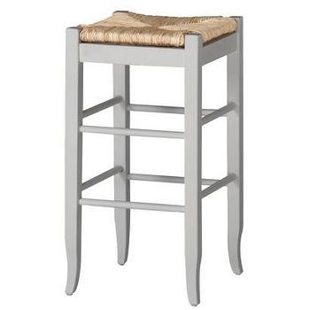 Seating - Rush Seat Stool - White I Target - white rush stool, rush barstool, white barstool with rush seat,