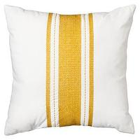Pillows - Threshold Stripe Pillow - Gold I Target - white throw pillow with gold stripes, gold and white throw pillow, white throw pillow with yellow stripes,